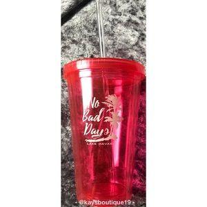 NWT Pink Lake Havasu Reusable Cup Size 16 oz